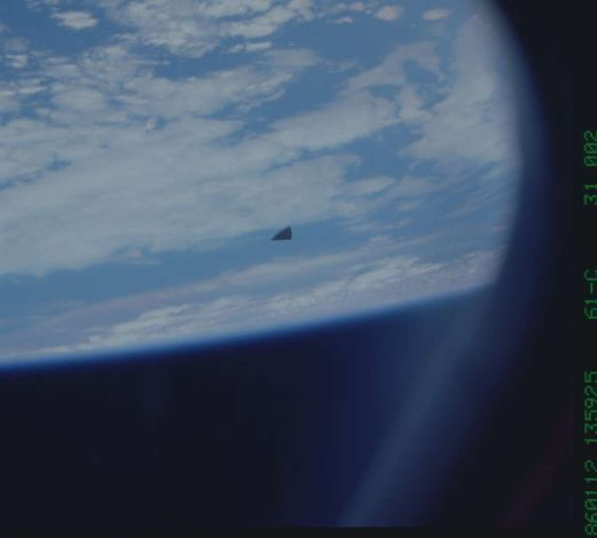 Hi-res snapshot of the mysterious object in space. Check out the full story!
