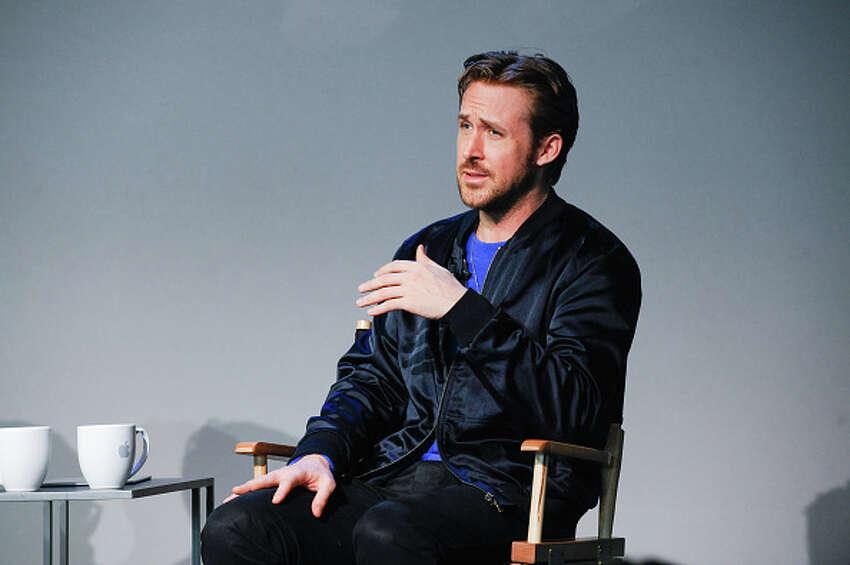 NEW YORK, NY - APRIL 11: Ryan Gosling attends Apple Store Soho Presents Meet The Filmmaker: Ryan Gosling,