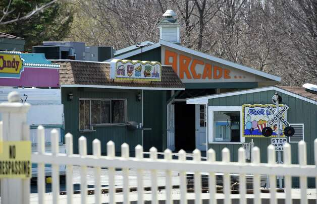 Memories of the former Hoffman's Playland still exist Thursday afternoon April 16, 2015 at the old site on Route 9 in Loudonville, N.Y. (Skip Dickstein/Times Union) Photo: SKIP DICKSTEIN