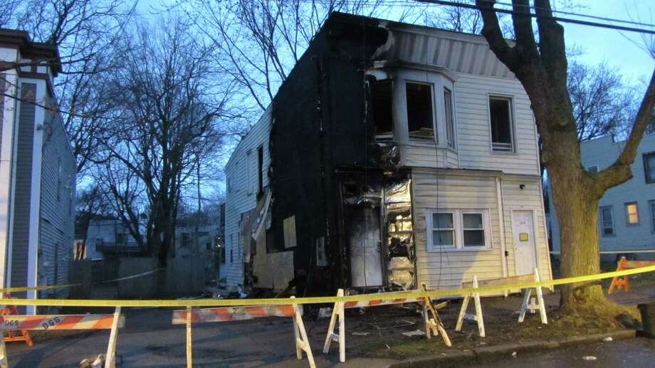 A fire left a family homeless on Thursday, April 16, 2015, on 238 Second St., Albany. (Bob Gardinier/Times Union)