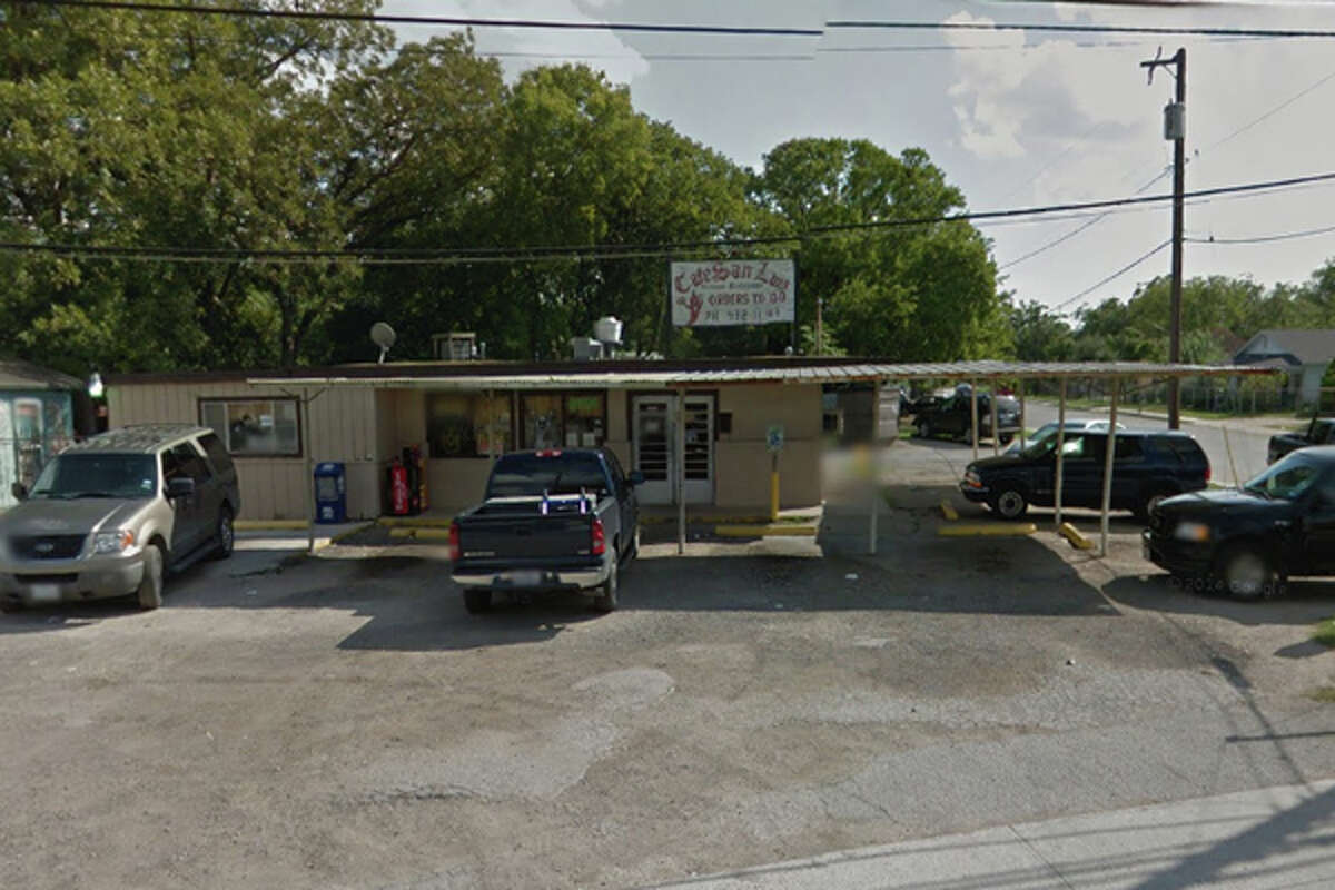 Café San Luis: 1606 Castroville Road, San Antonio, TX 78237 Date: 12/15/2017 Score: 72 Highlights: Food not protected from cross-contamination (raw chicken, corn); employee observed touching food with bare hands; mop sink draining waste water onto ground; accurate thermometers not found in coolers; ware washing machine not sanitizing dishes properly; employee beverages must have lid, straw; employee seen putting on gloves without washing hands properly; excessive grease coming from ventilation fan