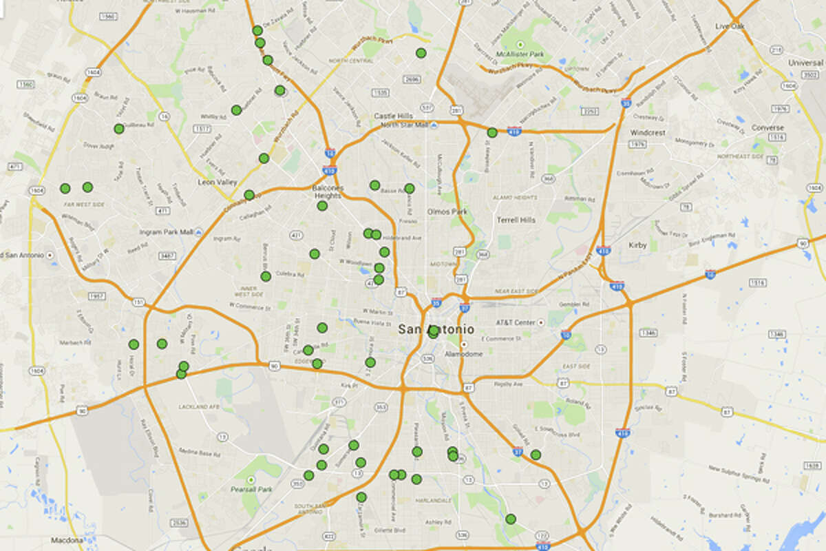 Click through to see the 24 San Antonio restaurants cited with 14 or more demerits in the most recent health inspection reports during the month of April.