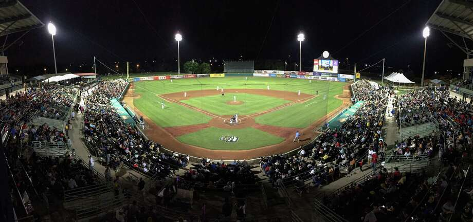 The Tulsa Drillers play the San Antonio Missions during a Texas League baseball game on April 16, 2015, at Wolff Stadium in San Antonio. Photo: Darren Abate /For The Express-News / Express-News