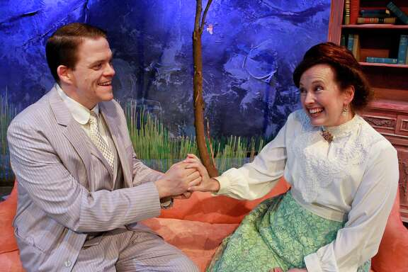 """Kregg Dailey and Celeste Roberts star in Classical Theatre Company's production of """"The Cherry Orchard."""""""