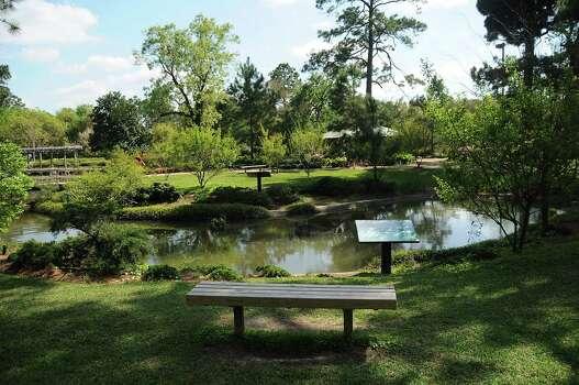 Hermann Park 39 S Japanese Garden Serves As City Oasis