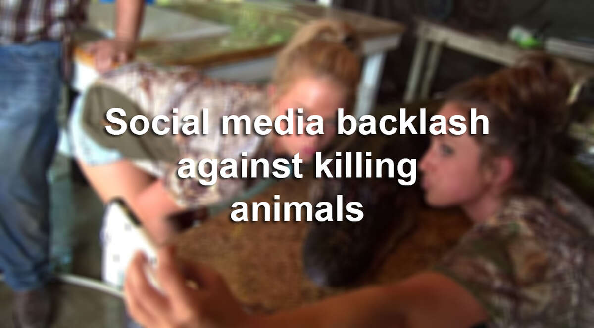 These people have faced backlash for posting photos of animals they've killed on social media.