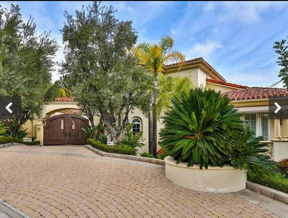 This home, located at 855 Vista Ridge Lane in Westlake Village, California, comes with a Star Wars-themed kids bedroom. The home is listed at $14.9 million.