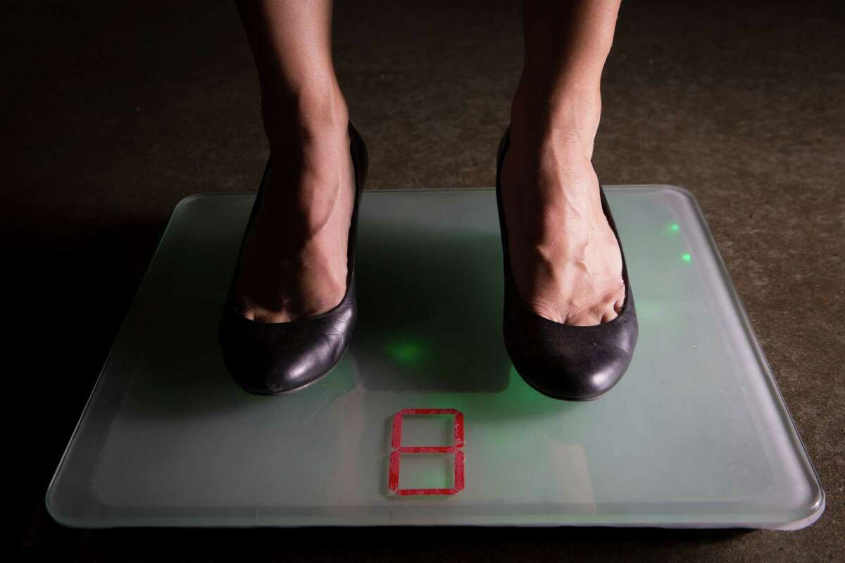 The iShoe balance is a scale for use at home that measures the balance of senior citizens.