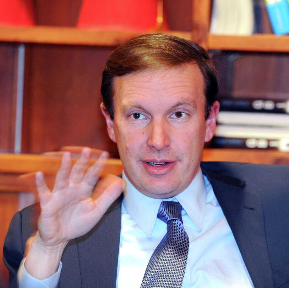 "U.S. Sen. Chris Murphy, D-Conn., is proposing a federal ""angel"" tax credit that would encourage affluent people to invest in early-stage companies. Photo: Bob Luckey / Greenwich Time"