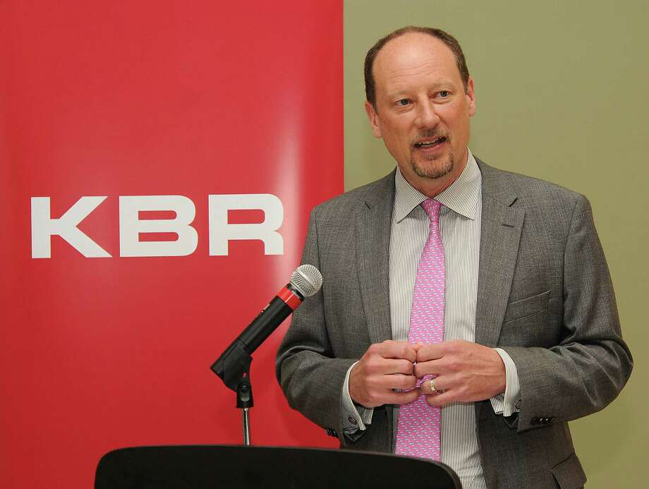 KBR CEO Stuart Bradie at the company's Houston headquarters.  Photo: Dave Rossman, Freelance / Freelalnce