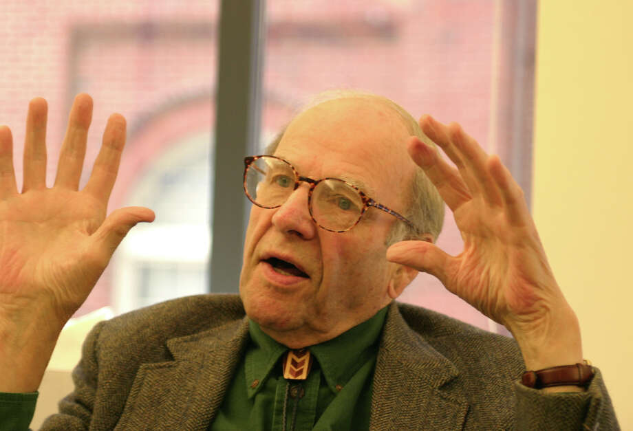 Gaylord Nelson, former U.S. senator, former Wisconsin governor and the founder of Earth Day in an interview at his office at the Wilderness Society headquarters in Washington in 2003. (Gannett News Service, Bill Perry) Photo: BILL PERRY / GANNETT NEWS SERVICE