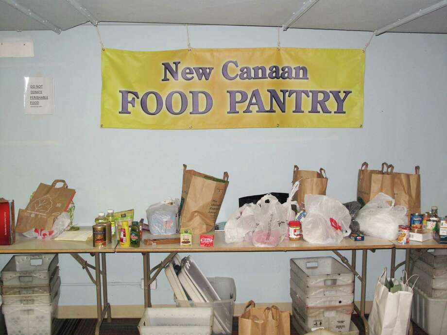 The New Canaan Food Pantry Photo: Contributed Photo, Tyler Woods / New Canaan News