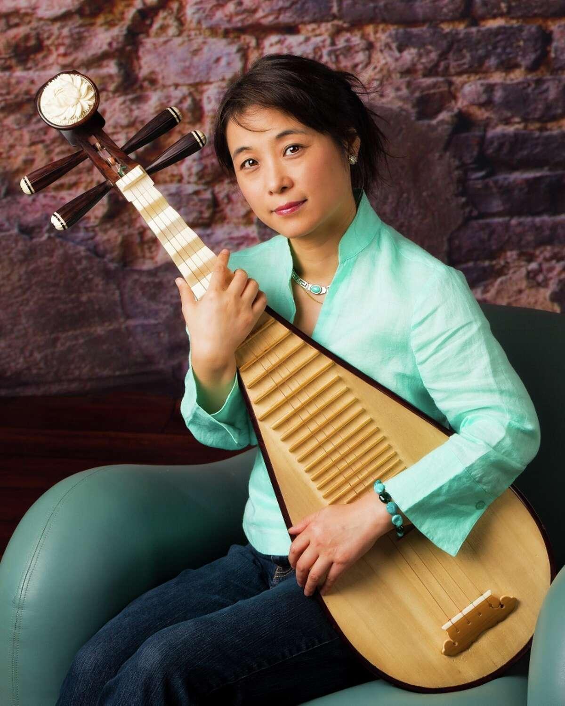 Pipa musician Wu Man