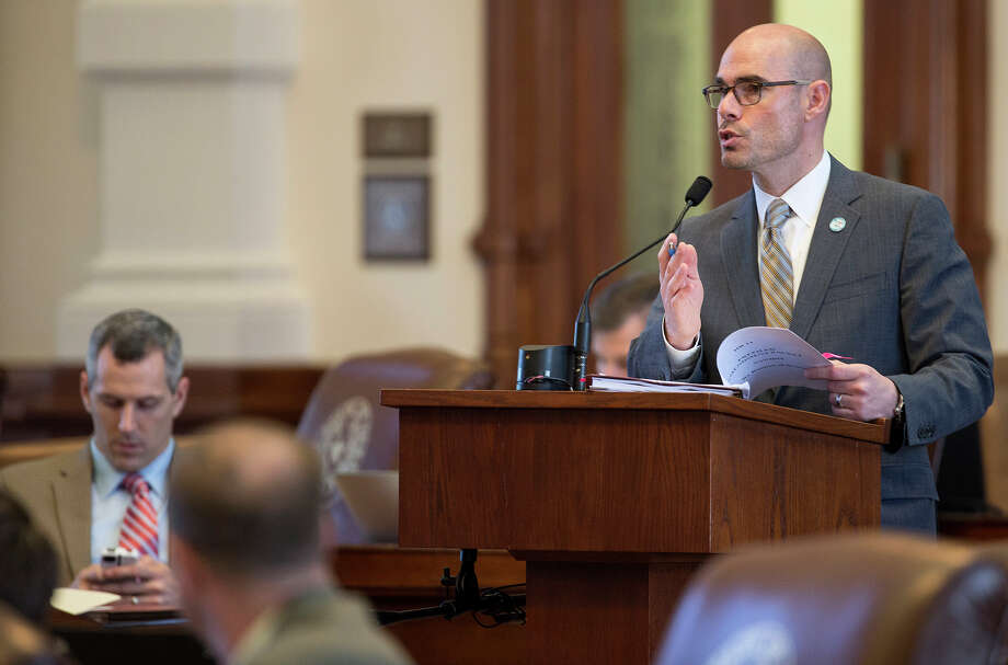 "State Rep. Dennis Bonnen says quashing his bill shows Patrick ""plays politics with anything and everything."" Photo: Ricardo B. Brazziell /Austin American-Statesman / Austin American-Statesman"