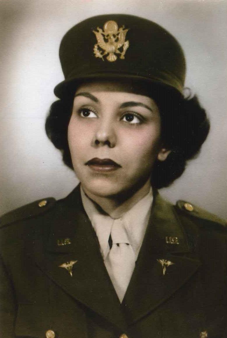 Gallardo Treated Wwii Soldiers As An Army Nurse San