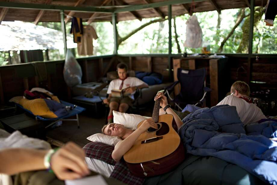 Down-time in the cabins at Camp Royaneh in 2012. Photo: Beck Diefenbach