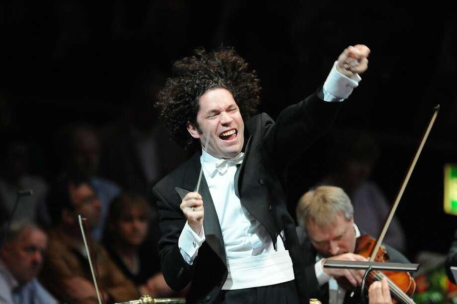 Conductor Gustavo Dudamel Photo credit: Chris Christodoulou Photo: Chris Christodoulou