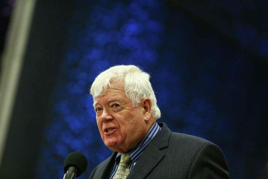 """He thought about running again to watch Hillary Clinton's inauguration, but Congressman Jim McDermott is retiring after 28 years. He feels Clinton is the right alternative to the """"authoritarian"""" movement of Donald Trump.  Photo: JOSHUA TRUJILLO, SEATTLEPI.COM / SEATTLEPI.COM"""