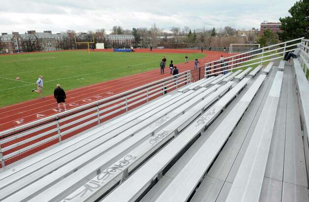 The Albany High School athletic field on Friday April 167 2015 in Albany, N.Y. (Michael P. Farrell/Times Union) Photo: Michael P. Farrell / 00031497A