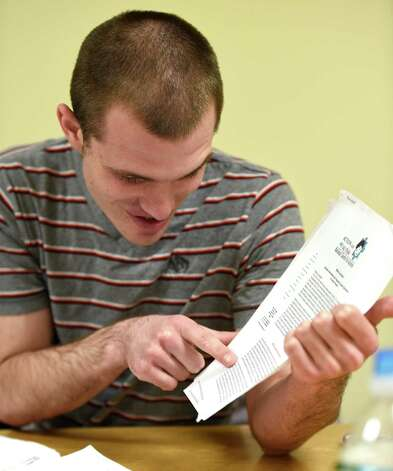 Christopher Walsh speaks to the Times Union about his Autism and related problems that his has in dealing with the illness Wednesday April 15, 2015 in Saratoga Springs, N.Y.      (Skip Dickstein/Times Union) Photo: SKIP DICKSTEIN / 00031448A
