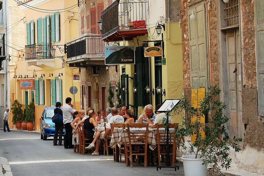 With its palm-tree waterfront and narrow, atmospheric streets, Nafplio has the look and feel of an Italian coastal resort. RS07Fall_361.jpg Photo: Rick Steves