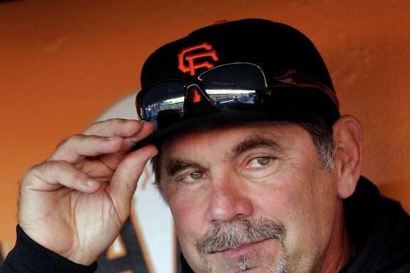 San Francisco Giants manager Bruce Bochy used to chew tobacco