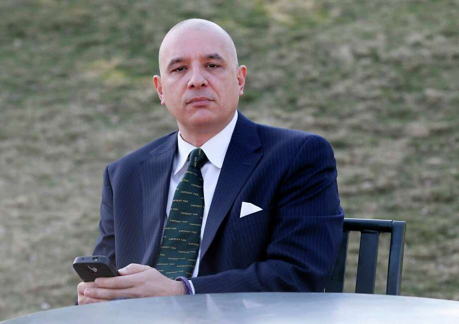 Bert Martinez, the owner of a public relations firm in Phoenix, consulted his lawyer when one of his employees posted critical comments about him and his company on Facebook. Photo: Matt York /Associated Press / AP
