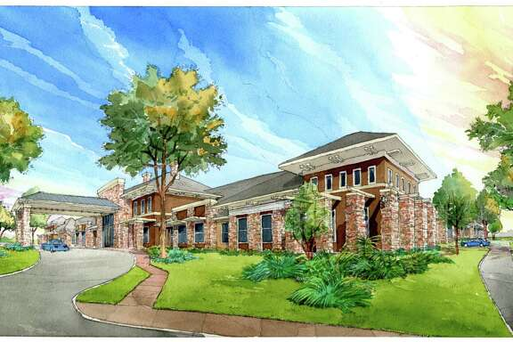 A rendering of the design of an Orchard Park assisted living and memory care community. The Stroud Cos. began developing the communities in a joint venture with Orchard Park Senior Living in 2011.