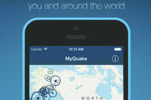 MyQuake   The UC Berkeley Seismological Laboratory's app provides an easy to use, informative overview of earthquakes over the years. It defaults to show you recent earthquakes in your area. For example, there was a magnitude 2.7 quake in Crockett this week. If you look at past earthquakes, you can see their location, magnitude, photographs and newspaper front pages. There are also bullet-pointed stats on how the quake affected local communities. MyQuake is available for iPhone. It is free.