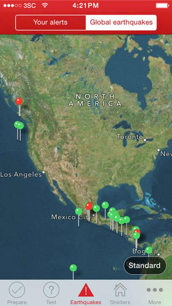 San Ramon Earthquake Map.Nearly 200 Earthquakes Shake San Ramon San Antonio Express News