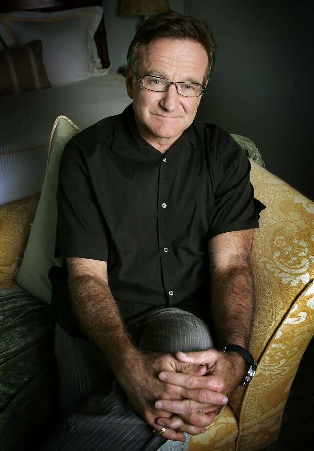 Robin Williams was raised in Marin and lived most of his life in the county. Photo: Reed Saxon, Associated Press