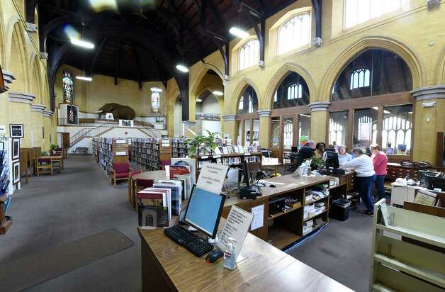 Interior view of the Cohoes Library Tuesday morning April 14, 2015 in Cohoes, N.Y.     (Skip Dickstein/Times Union) Photo: SKIP DICKSTEIN / 00031425A