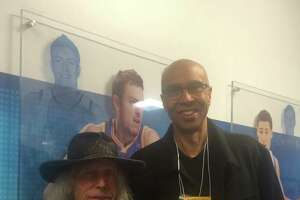 "Superfan Jimmy Goldstein thinks Warriors ""can win it all."" - Photo"