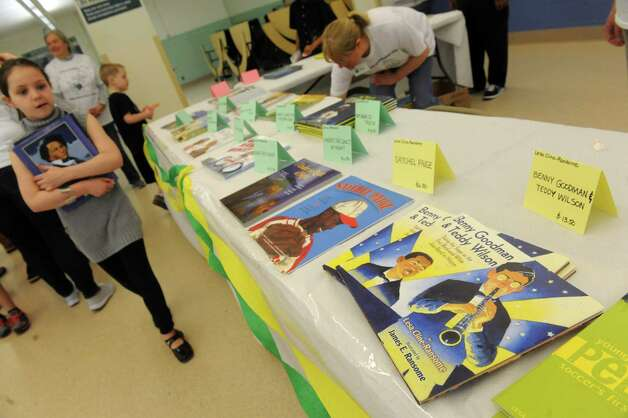 Giffen Memorial Elementary School  held it's Authors & Illustrators Day on Saturday April 18, 2015 in Albany, N.Y. (Michael P. Farrell/Times Union) Photo: Michael P. Farrell / 00031491A