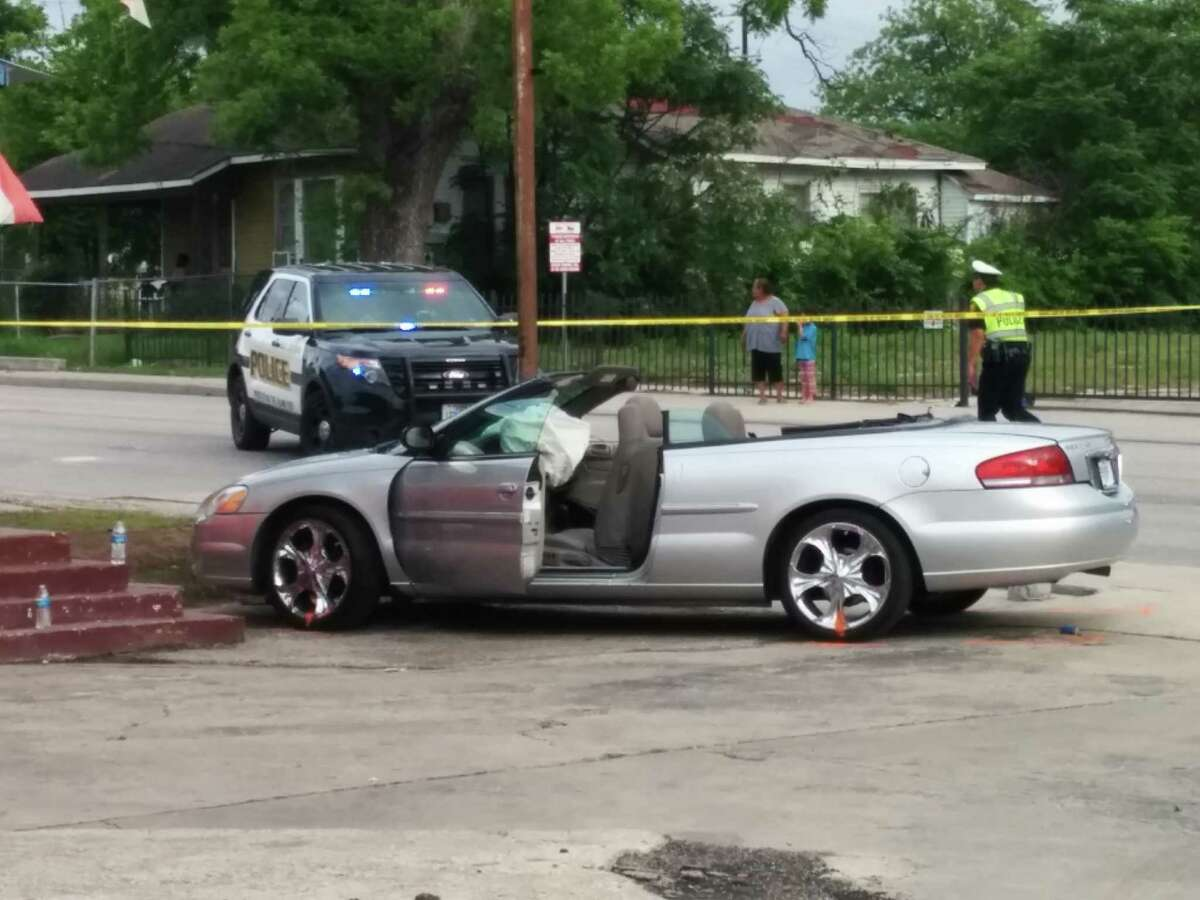 April 18, 2015: SAPD concludes Mayor's driver not at fault in accident that left woman brain dead. Police investigated the scene of a collision involving Mayor Ivy Taylor's SUV at the intersection of East Houston Street and North Hackberry, and they concluded that Taylor's driver had the right of way. A lawsuit that was later filed against the city of San Antonio and Mayor Ivy Taylor's driveraccuses her driver of running a red light and hitting a convertible, injuring a woman who now is brain dead.