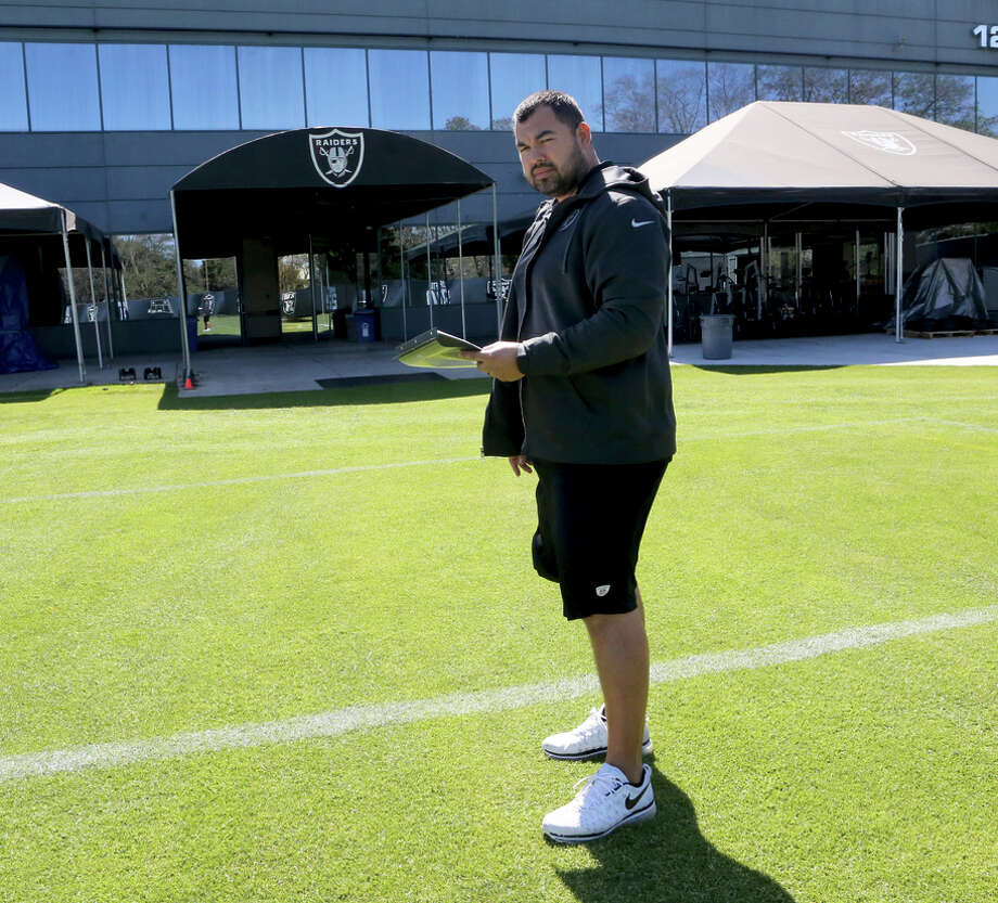 Joe Gomes, who was hired as the Raiders' new strength and conditioning coach, is know for his cutting-edge approach. Photo: Oakland Raiders / Oakland Raiders / Tony Gonzales