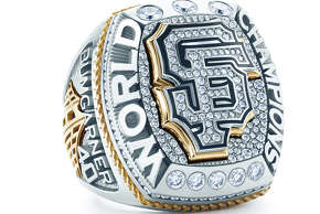 The Giants' 2014 World Series ring.