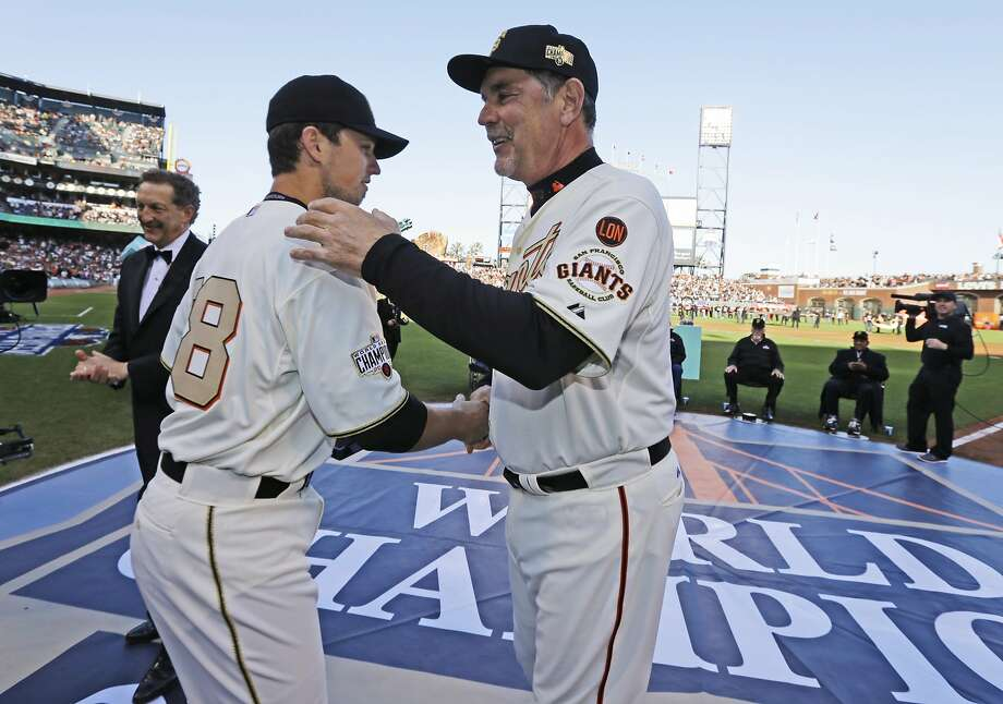 San Francisco Giants manager Bruce Bochy used to chew tobacco Photo: Ben Margot, Associated Press