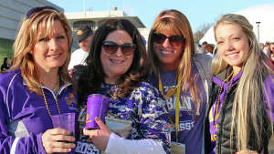 Were you Seen at the University at Albany's annual Spring Stomp on Saturday, April 18, at Bob Ford Field?