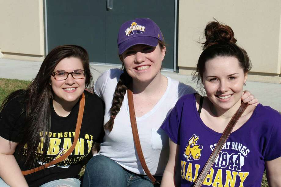 Were you Seen at the University at Albany's annual Spring Stomp on Saturday, April 18, at Bob Ford Field? Photo: Stephanie Snyder