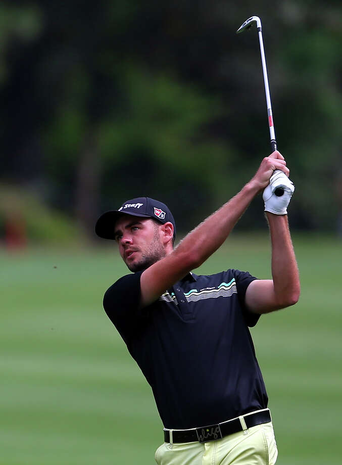 HILTON HEAD ISLAND, SC - APRIL 18:  Troy Merritt watches his second shot on the sixth hole during the third round of the RBC Heritage at Harbour Town Golf Links on April 18, 2015 in Hilton Head Island, South Carolina.  (Photo by Tyler Lecka/Getty Images) ORG XMIT: 527908823 Photo: Tyler Lecka / 2015 Getty Images