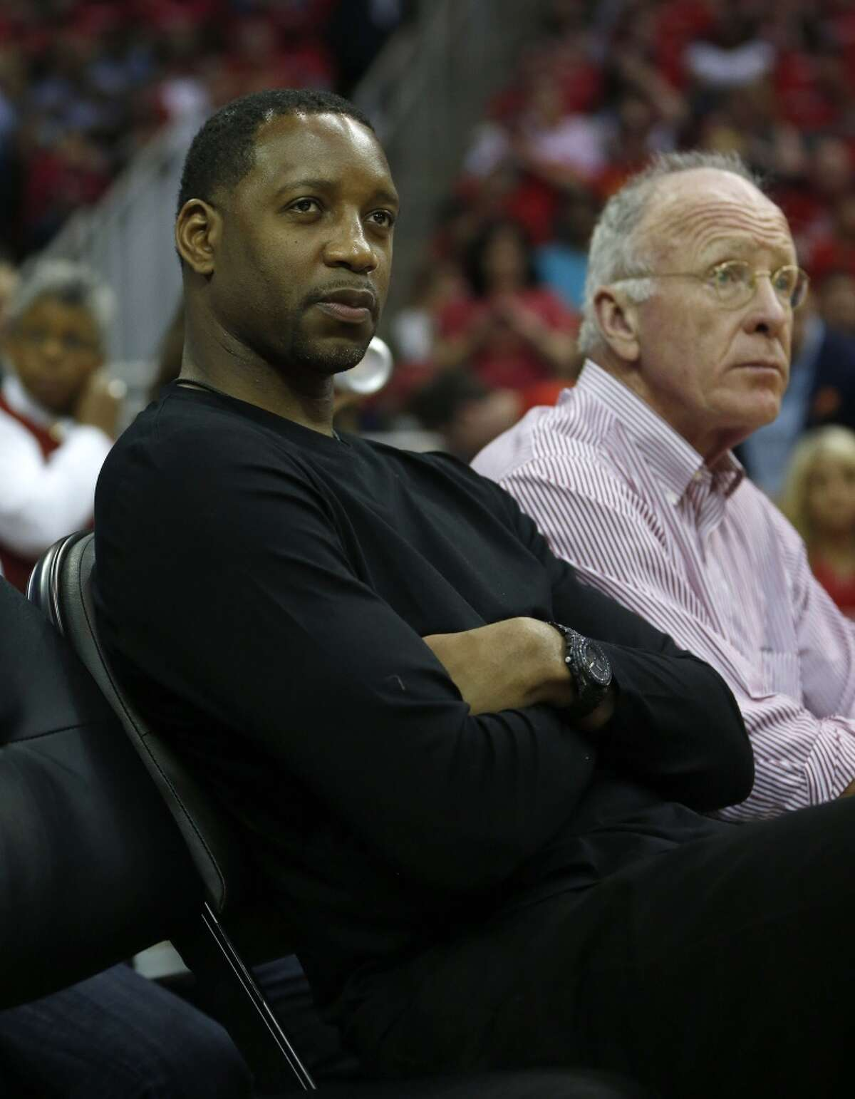 Former Rockets star Tracy McGrady will be joining the media contingent as an NBA analyst for ESPN. Click through the gallery to see photos of McGrady through the years.