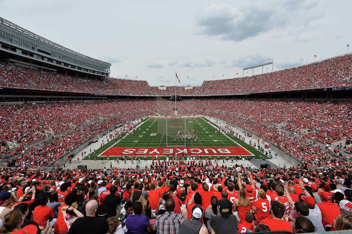 The most amazing thing isn't that almost 100,000 fans packed Ohio Stadium to watch Ohio State's spring game, but rather that they paid to get in Saturday.