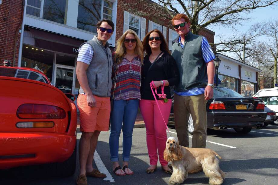 New Canaan's annual car show, Caffeine and Carburetors, held its first event of the year on April 19, 2015 in downtown New Canaan. Were you SEEN? Photo: Todd Tracy / Hearst Connecticut Media Group
