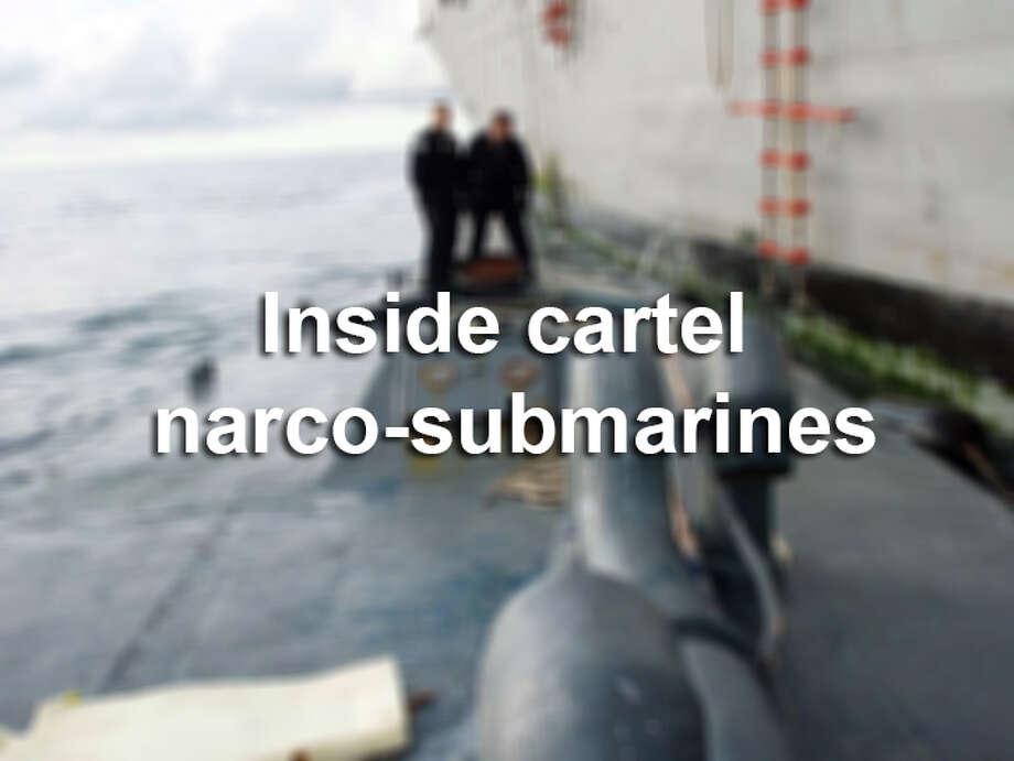 Inside drug cartels' narco-submarines. Photo: Nico Figueroa, File Photo / AP2008