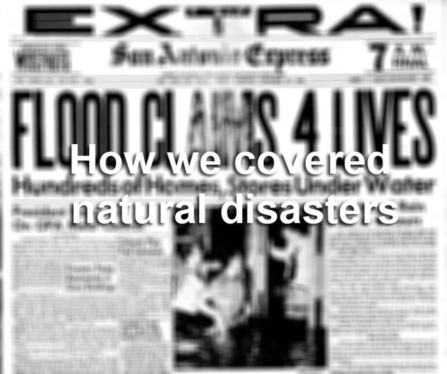 How we covered natural disasters. Photo: File Photo