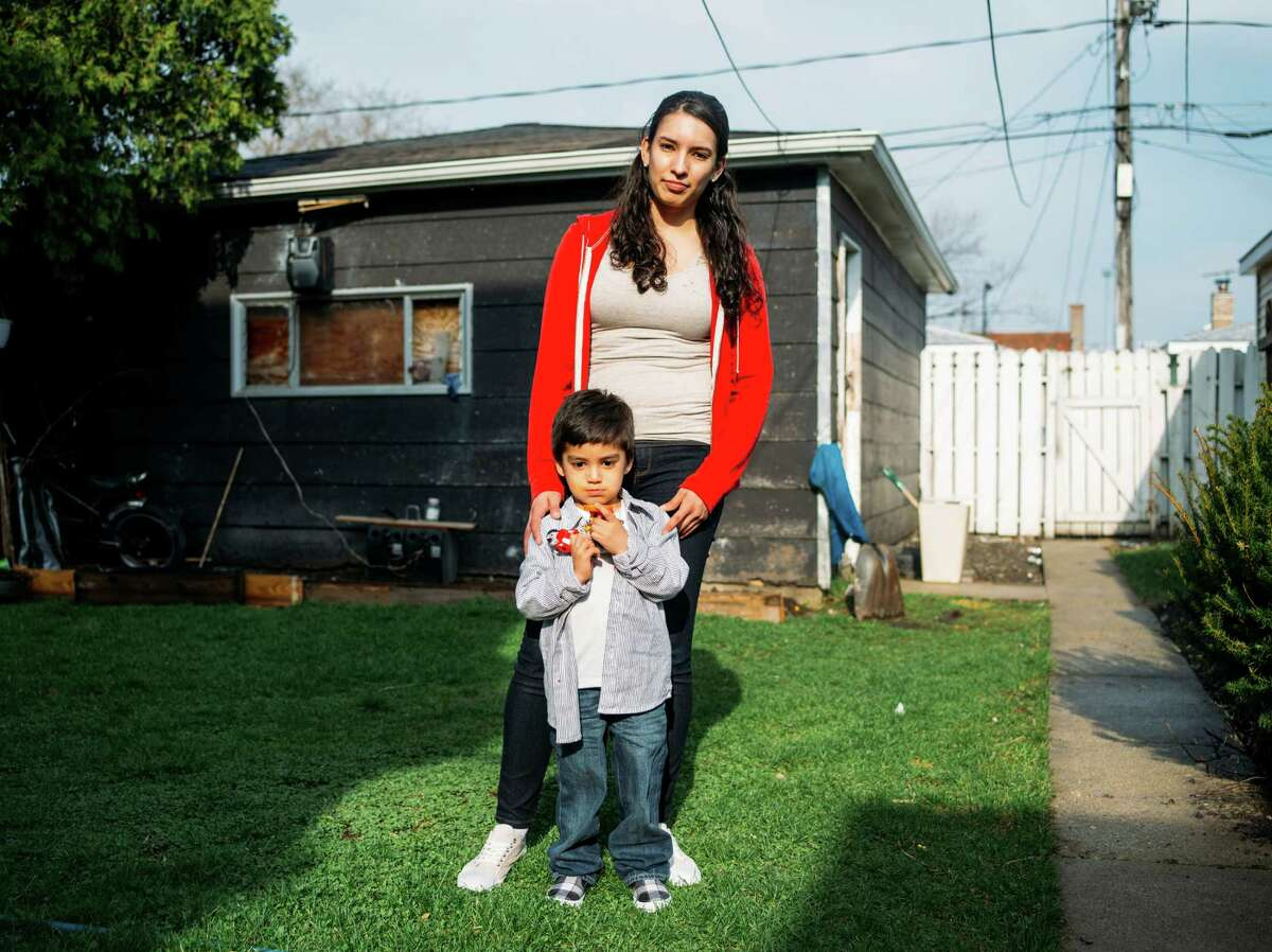Adriana Alvarez, a cashier at McDonald's who is pushing for higher wages, is with her son, Manny, 3. Alvarez is paid $10.50 an hour, but she still depends on food stamps, Medicaid and a child-care subsidy to help get through the week. A University of California study found that taxpayer money is effectively subsidizing employers who pay at or around the minimum wage.