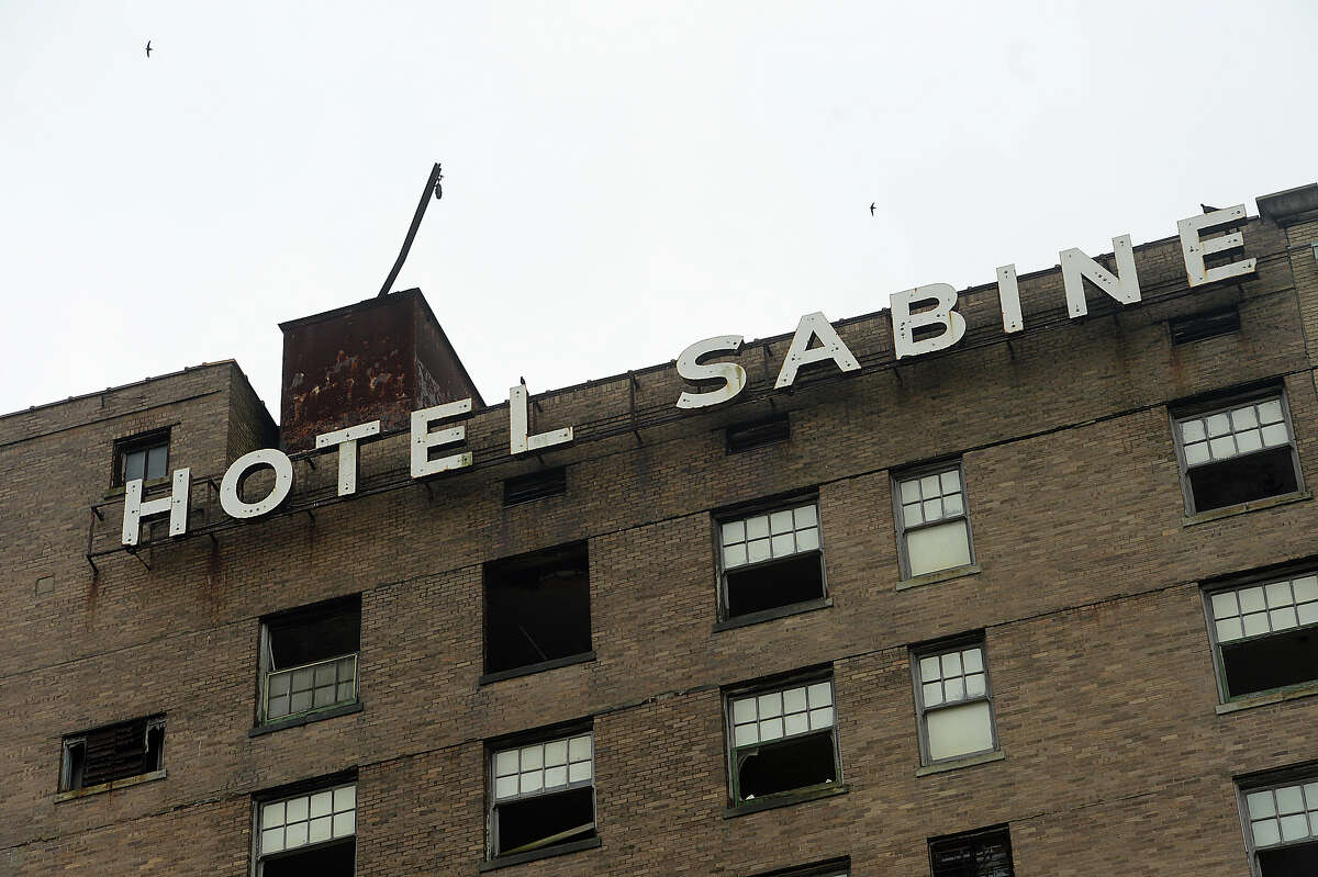 > > Click through to see photographs from inside the Hotel Sabine. In 2015 the city offered it up as part of a film-friendly incentive proposal to potential film-makers in the hopes it would be demolished. Motiva has plans to buy it as part of the renovations of three downtown buildings.