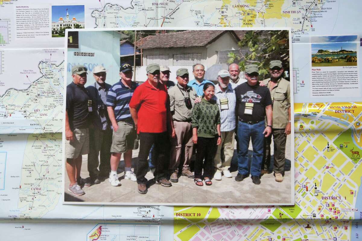 Eleven veterans from San Antonio visited the Vihn Son Orphanage in Kon Tum province during their Vietnam tour in early February.