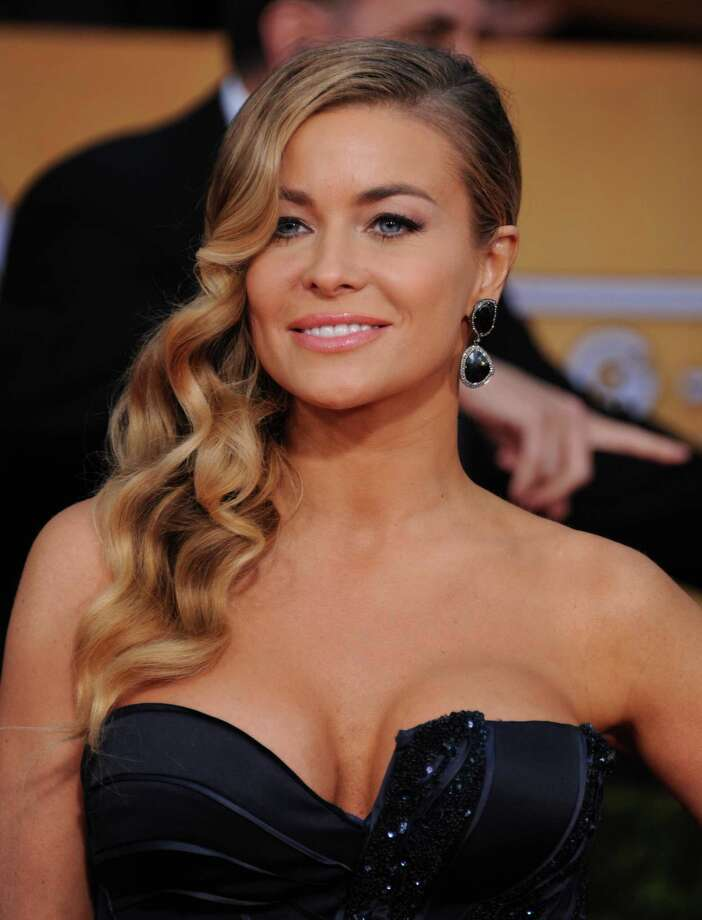 Carmen Electra arrives at the 19th Annual Screen Actors Guild Awards at the Shrine Auditorium in Los Angeles on Sunday, Jan. 27, 2013. (Photo by Jordan Strauss/Invision/AP) Photo: Jordan Strauss / Invision